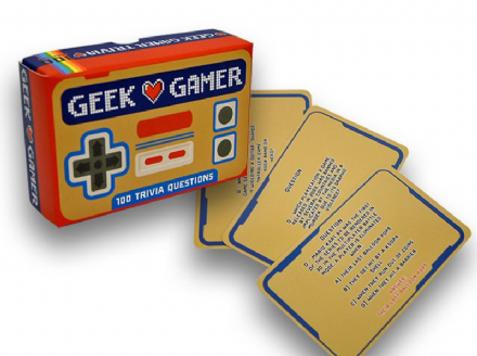 Geek Gamer Trivia Card Game